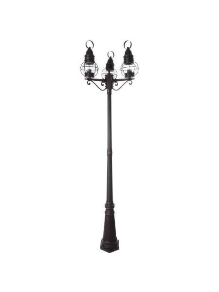 Фонарный столб для уличного освещения GL-100 E-3 BK
