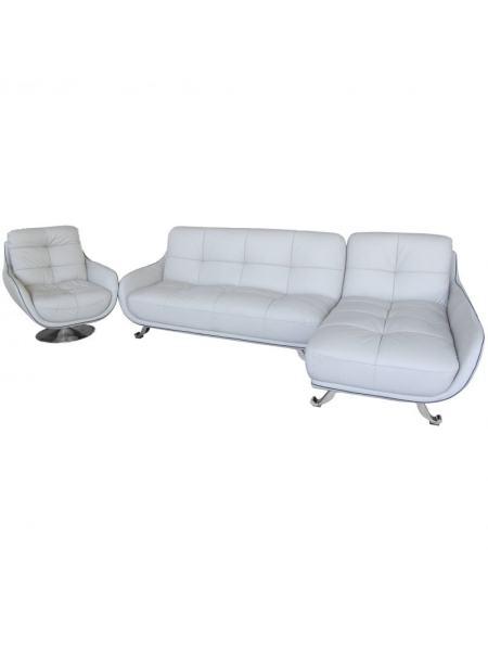 Мягкая мебель набор: угловой диван и одно кресло US16