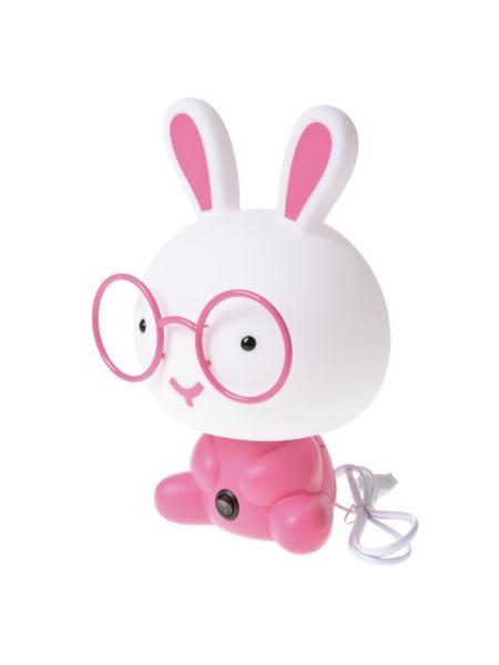 Ночник настольный розовый кролик KL-446T/1 E14 PN