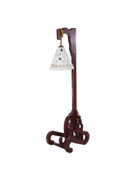 Торшер фонарь деревянный BR-442F/1