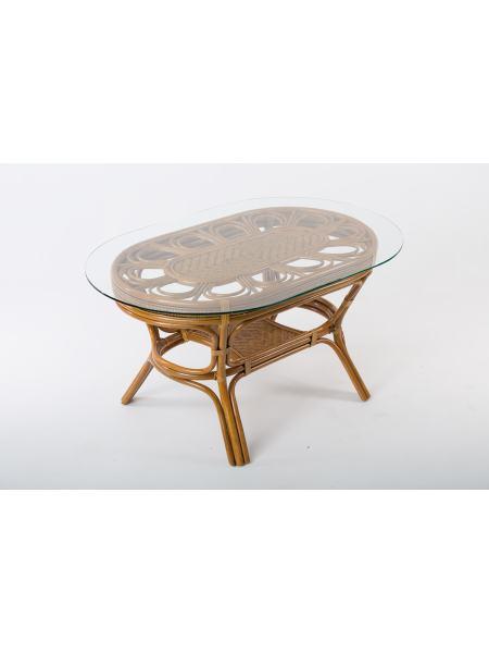 Обеденный стол Аскания из натурального ротанга, st0014