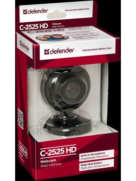 Веб-камера Defender G-lens 2525HD 2 MP (63252)