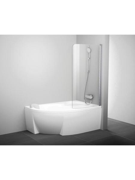 Шторка на ванну CVSK1 Rosa 160/170 R Ravak 7QRS0C00Y1