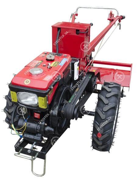 Мотоблок дизельный Forte МД-81Е, без плуга (красный)