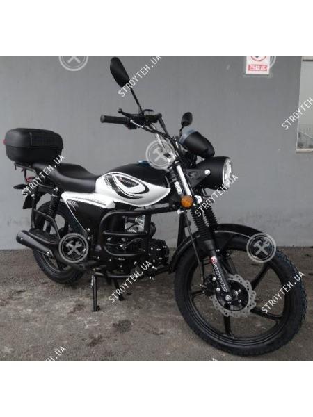 Мотоцикл Forte ALFA NEW FT125-K9A черный