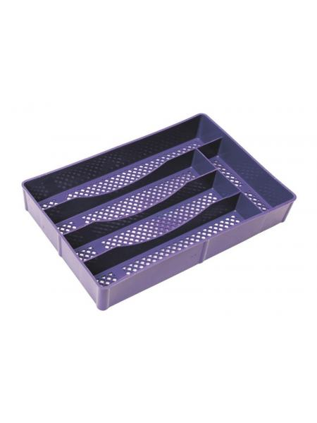 Лоток для столовых приборов 300*195 мм, сетка ГОСПОДАР 92-0050