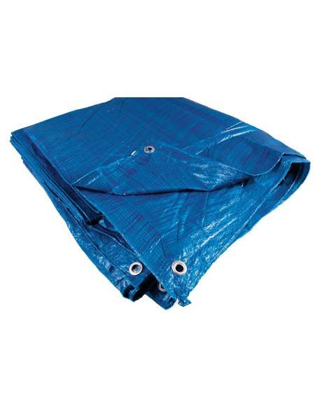 Тент   2 х 3 м, синий, 65г/м2 ГОСПОДАР 79-9203
