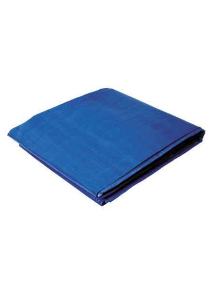 Тент   3 х 4 м, синий, 65г/м2 ГОСПОДАР 79-9304