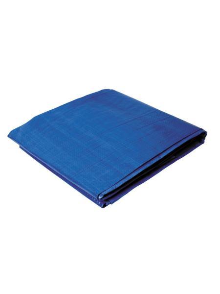 Тент   4 х 8 м, синий, 65г/м2 ГОСПОДАР 79-9408