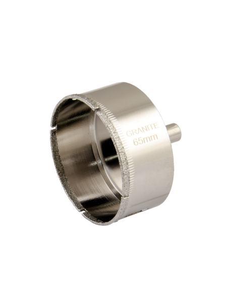 Сверло трубчатое с алмазным напылением для стекла и плитки  65 мм GRANITE 2-01-265