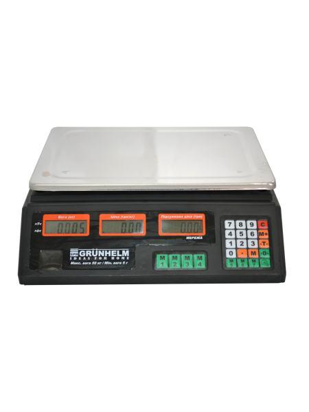 Весы торговые GRUNHELM GSC-051