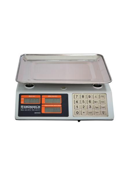 Весы торговые GRUNHELM GSC-053