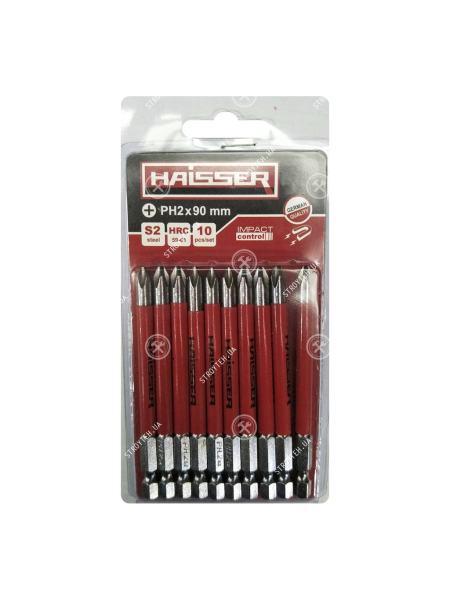 Набор бит Haisser PH2X70 мм (10шт)