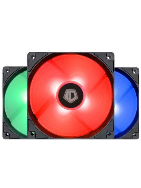 Кулер ID-Cooling XF-12025-RGB-TRIO, 120x120x25мм, 4-pin PWM