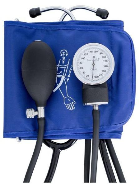 Механический измеритель давления Longevita LS-5 (стетоскоп встроен в манжету)