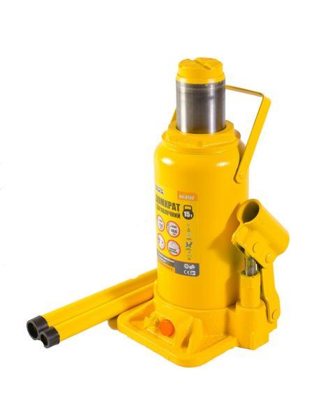 Домкрат гидравлический бутылочный 15 т, 230-460 мм MASTERTOOL 86-0150