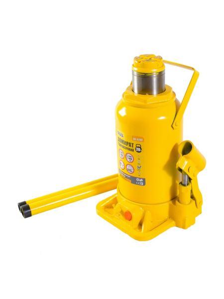 Домкрат гидравлический бутылочный 20 т, 244-449 мм MASTERTOOL 86-0200