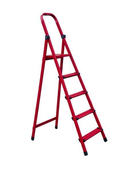 """Лестница-стремянка металлическая """"МАСТЕР""""  5 ступеней, h=1030 мм, max 150 кг MASTERTOOL 79-1055"""