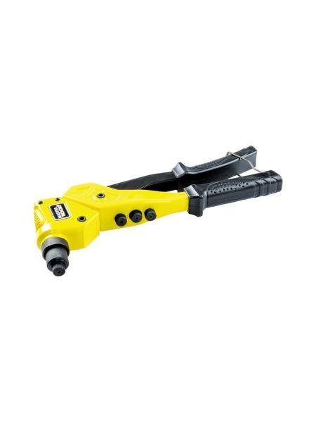 Пистолет для заклепок поворотный ПРОФИ, CrMo, 280 мм Ø 2,4/3,2/4,0/4,8 мм MASTERTOOL 21-0702