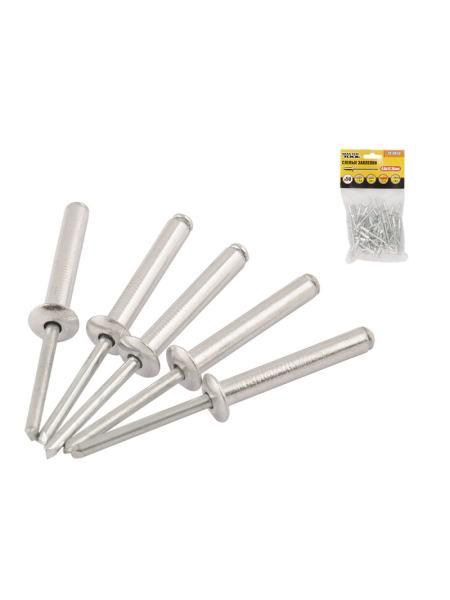 Слепые заклепки алюминиевые 4,8*12,70 мм, 50 шт MASTERTOOL 20-0650