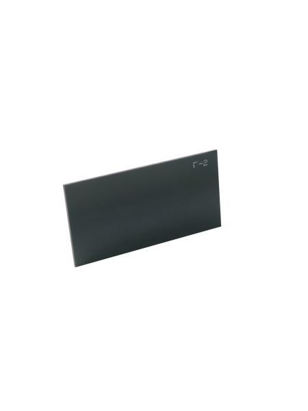 Стекло защитное для сварки тип Г2 (DIN 6), 52х102 мм MASTERTOOL 81-0052