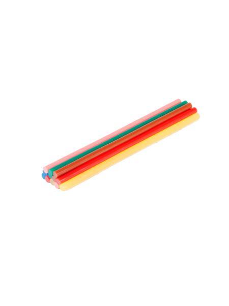 Стержни клеевые 7,2*200 мм, 12 шт, цветные MASTERTOOL 42-0159