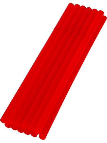 Стержни клеевые 7,2*200 мм, 12 шт, красные MASTERTOOL 42-1159