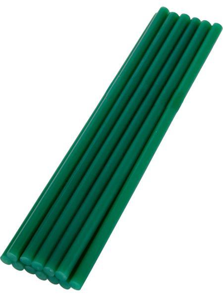 Стержни клеевые 7,2*200 мм, 12 шт, зеленые MASTERTOOL 42-1157