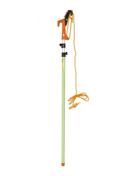 Сучкорез штанговый ПРОФИ телескопический 1,5 - 3,8 м, лезвия SK5, алюминиевая ручка MASTERTOOL 14-6903