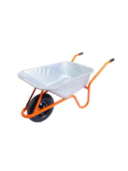 Тачка садово-строительная 100 л/ 160 кг,  одноколесная MASTERTOOL 79-9851