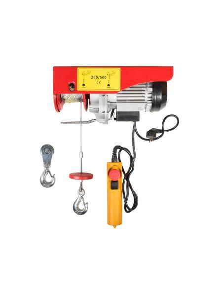 Таль электрическая 250/500 кг*12 м MASTERTOOL 86-9050