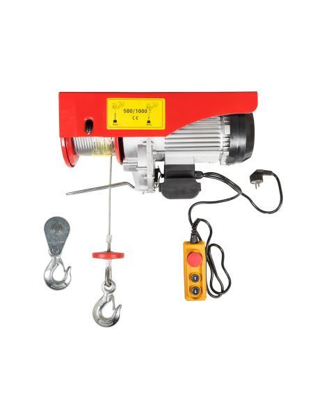 Таль электрическая 500/1000 кг*12 м MASTERTOOL 86-9100
