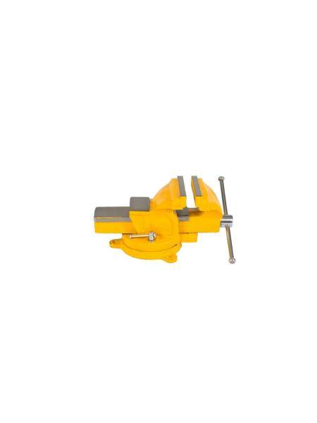 Тиски слесарные поворотные 100 мм MASTERTOOL 07-0210