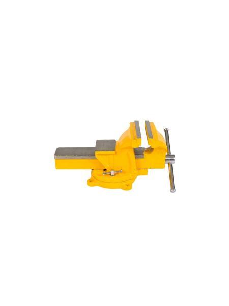 Тиски слесарные поворотные 125 мм MASTERTOOL 07-0212