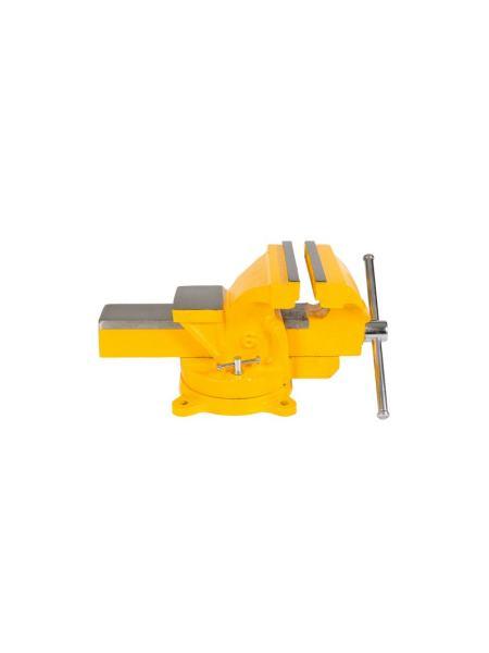 Тиски слесарные поворотные 150 мм MASTERTOOL 07-0215