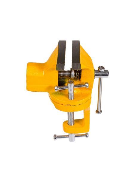 Тиски слесарные поворотные мини 50 мм MASTERTOOL 07-0201