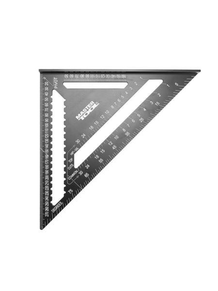 Угольник плотника SWANSON 300 мм, алюминиевый MASTERTOOL 30-3519