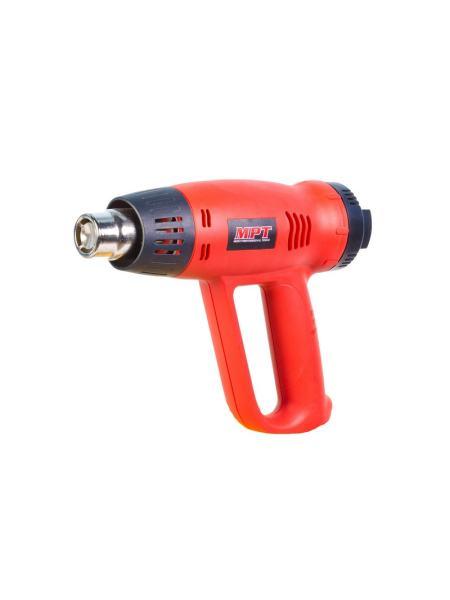 Фен промышленный PROFI 2000 Вт, 60-630*С, 300-500 л/мин, насадки 2 шт. MPT MHG2005V