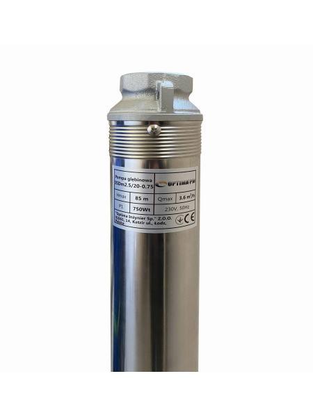 Насос скважинный с повышенной уст-тью к песку OPTIMA PM 3SDm2,5/20 0,75 кВт 90м + 70 м кабель