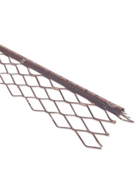 Polska Уголок для мокрой штукатурки шпаклевочный алюминиевый 50мм х 3м