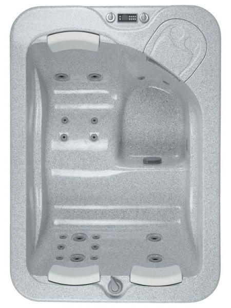 """MARINA SPA бассейн 188*133см, белый, с пластиковым корпусом """"под красное дерево"""""""