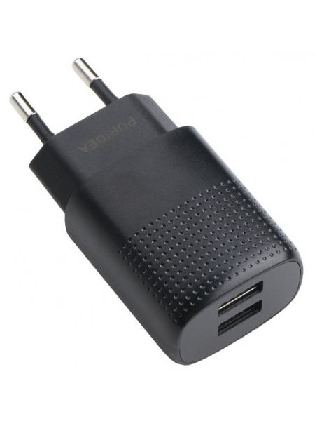Сетевое зарядное устройство Puridea C03 Dual Black