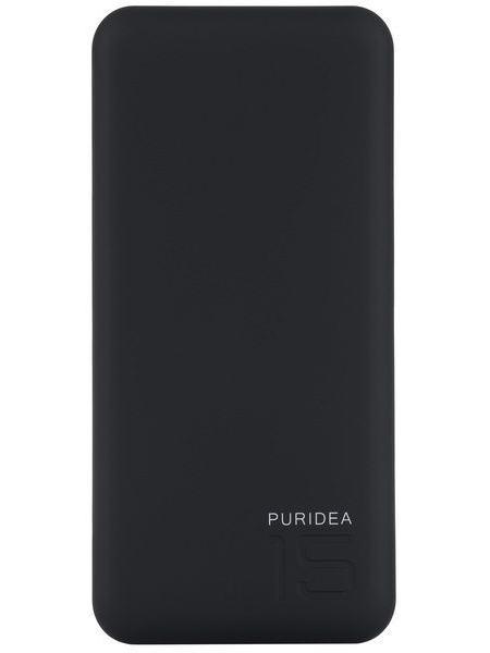 Портативное зарядное устройство Puridea S3 15000mAh Li-Pol Rubber Black & White