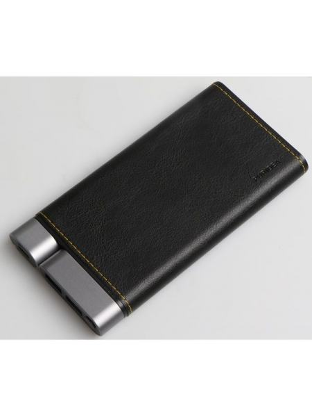 Портативное зарядное устройство Puridea X01 10000mAh Li-Pol + TYPE-C Leather Black