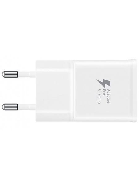 Сетевое зарядное устройство Samsung EP-TA20EWECGRU + Type-C Cable (1EA) White