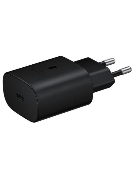 Сетевое зарядное устройство Samsung EP-TA800NBEGRU 25W Travel Adapter Black