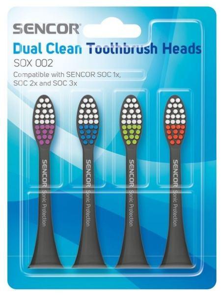Насадка для зубной щетки Sencor SOX 002 Grey