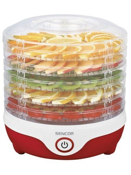 Сушки для фруктов и овощей Sencor SFD742RD