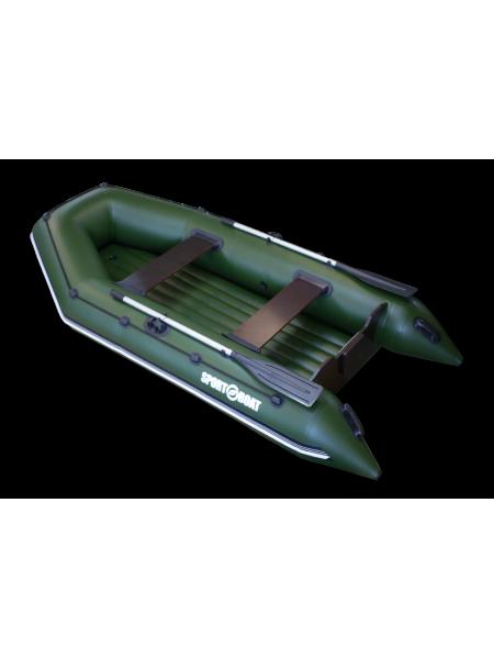 Надувная моторная лодка с надувным дном Neptun N290LD