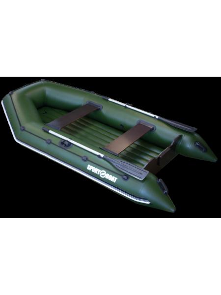 Надувная моторная лодка с надувным дном Neptun N310LD